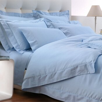 Millerighe 300 Thread Count 100% Cotton Fitted Sheet by Bellino Fine Linens